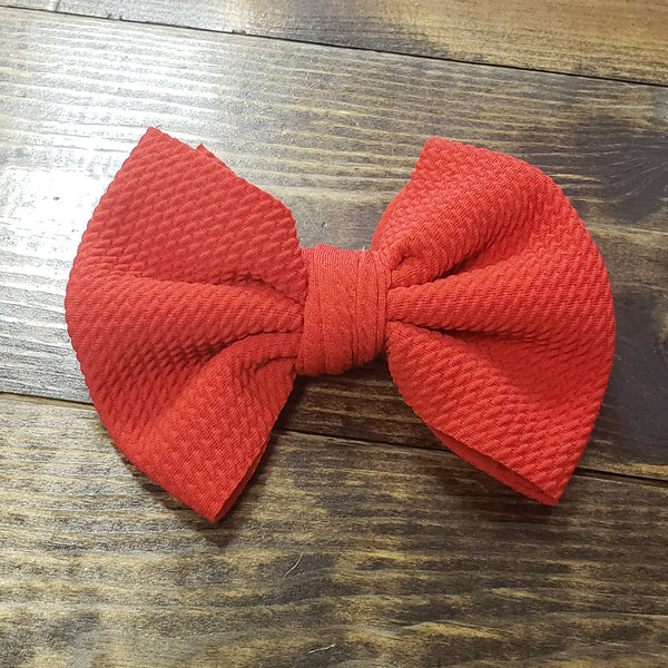 Alligator clip bows