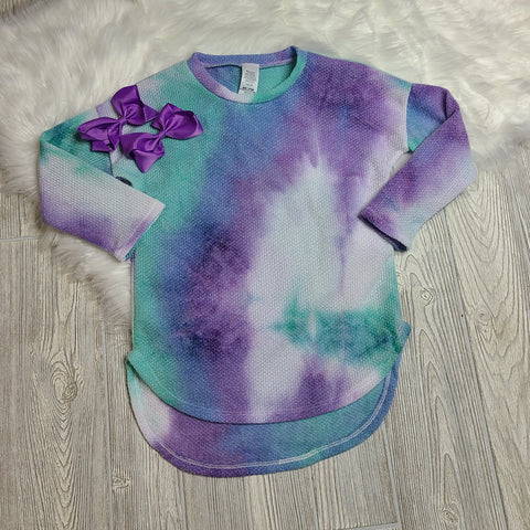 High Low Tie Dye Tunic
