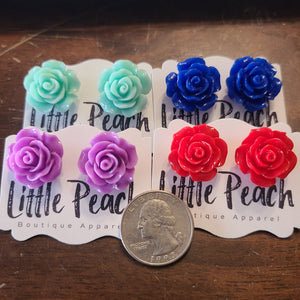 Extra large Rose Studs