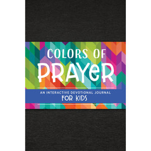 Colors of Prayer - Interactive Devotional Journal for Kids