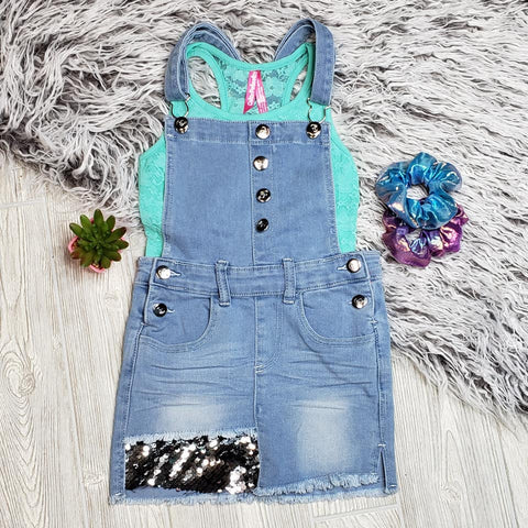 Denim Skirtall