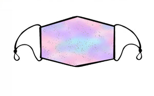 Galaxy Watercolor Face Mask (Child)