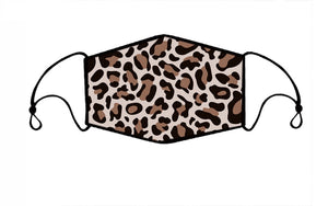 Leopard Face Mask (Adult)