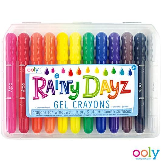 Ooly - Rainy Dayz Window Gel Crayons