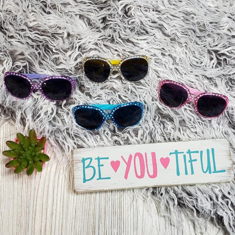 Colorful Polka Sunglasses