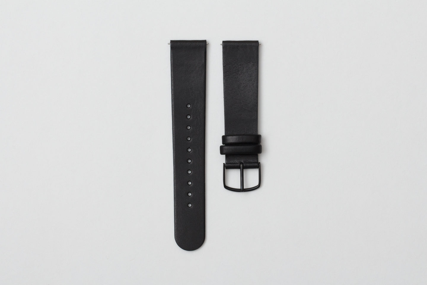 L01- Black Leather Strap