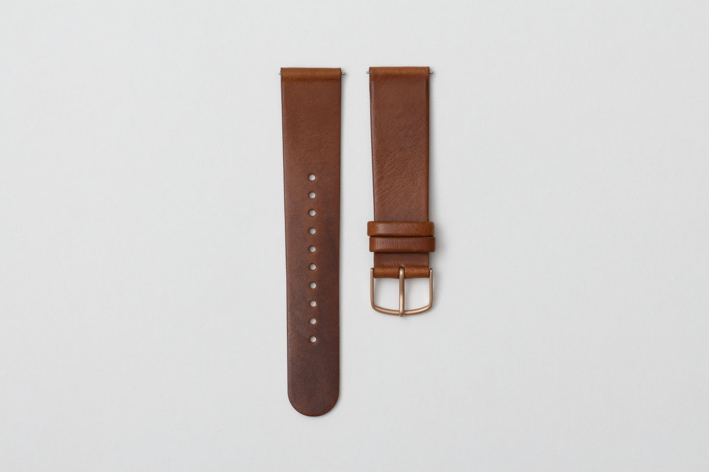 L04- Cognac Leather Strap