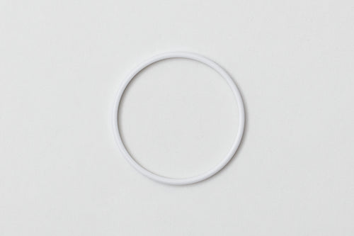 A06- White Acetate Bezel