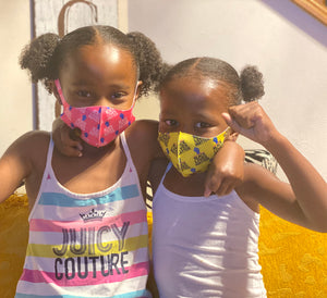 BLM Kids Face Mask