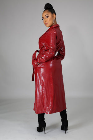 His Wife Faux Coat