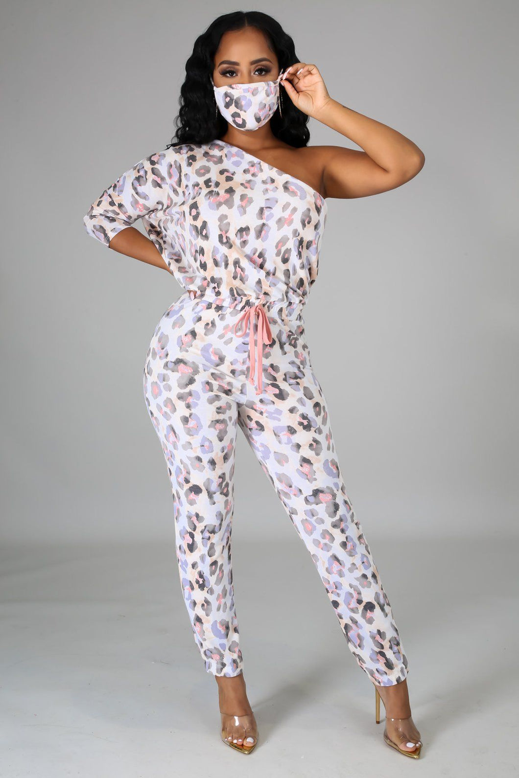 2pc Christina Jumpsuit Set