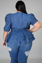 Load image into Gallery viewer, Layla Denim Top
