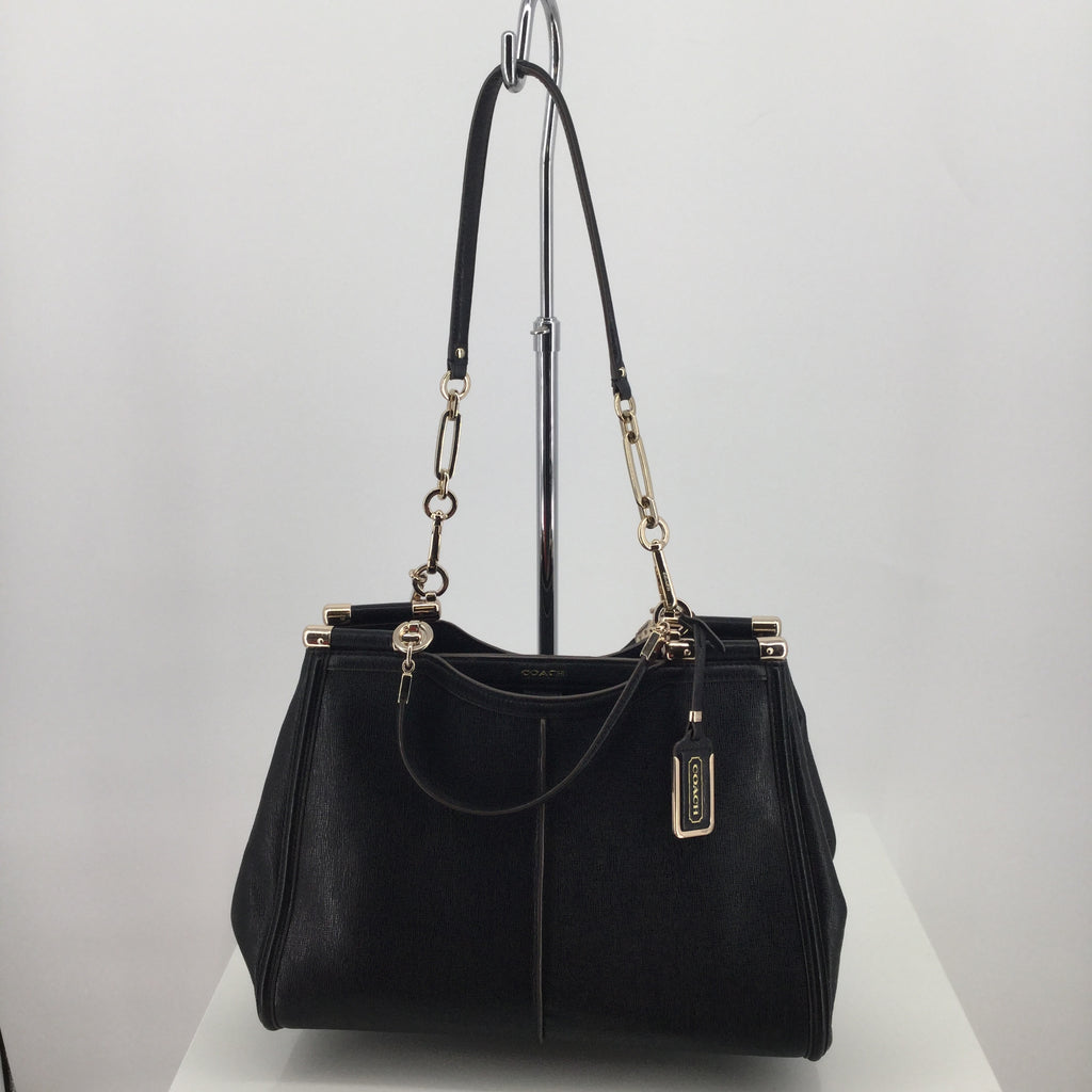 Coach Maddison Textured Leather Tote