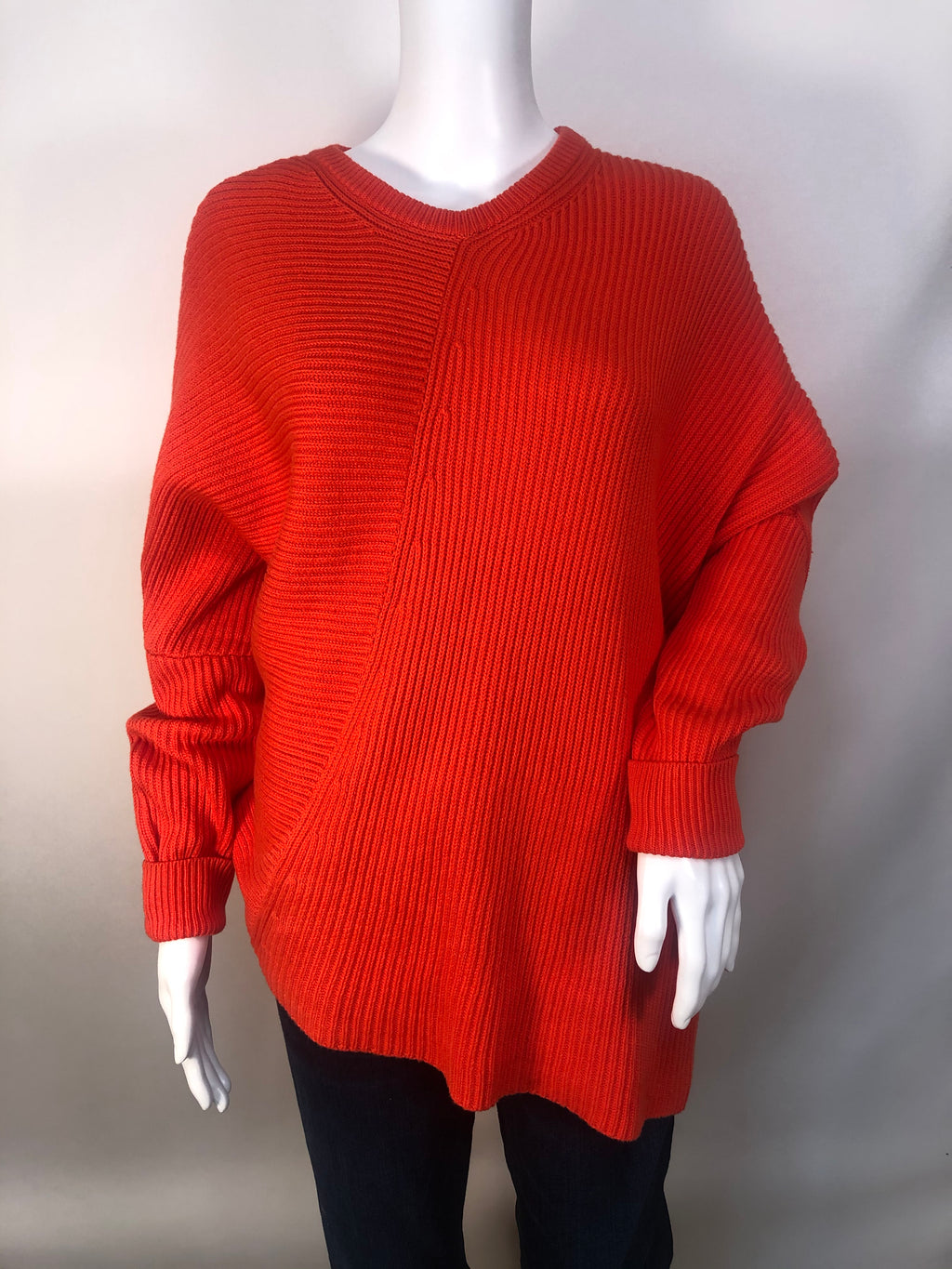 Free People Sweater Heavyweight Size:s