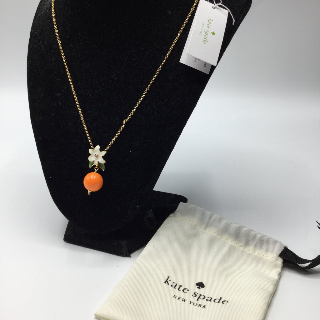 Kate Spade citrus crush necklace NWT!