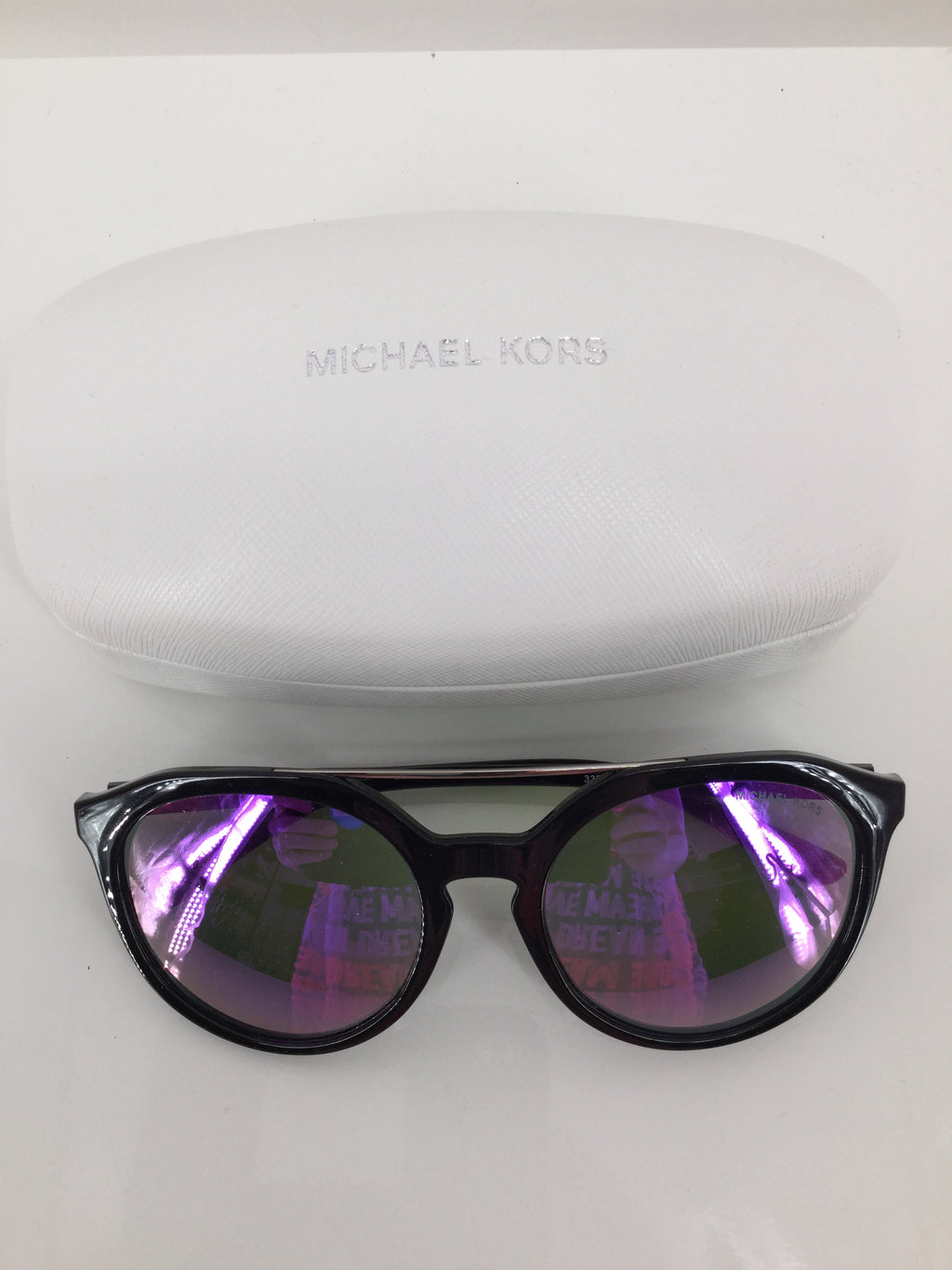 Michael Kors Sunglasses, Black, With Case