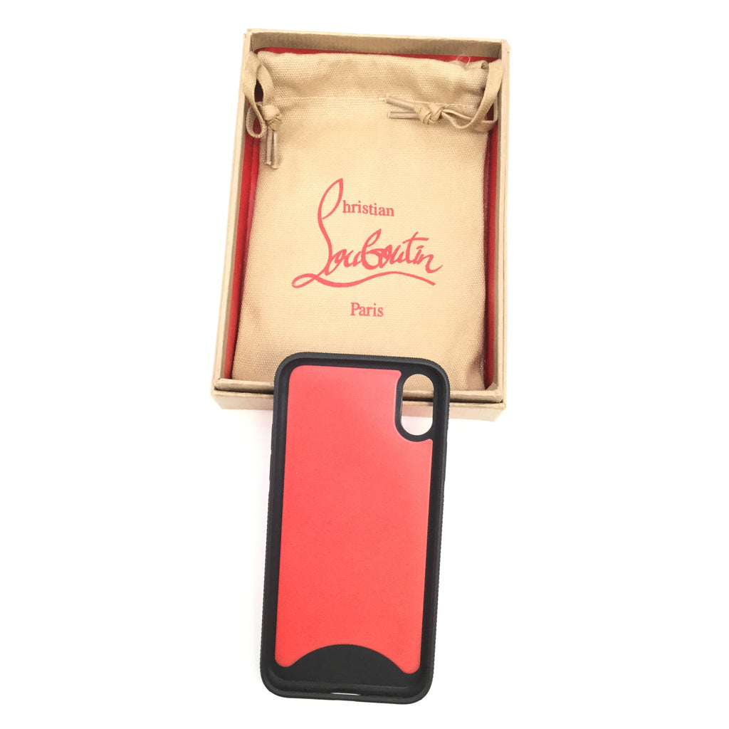 CHRISTIAN LOUBOUTIN PHONE CASE X AND XS