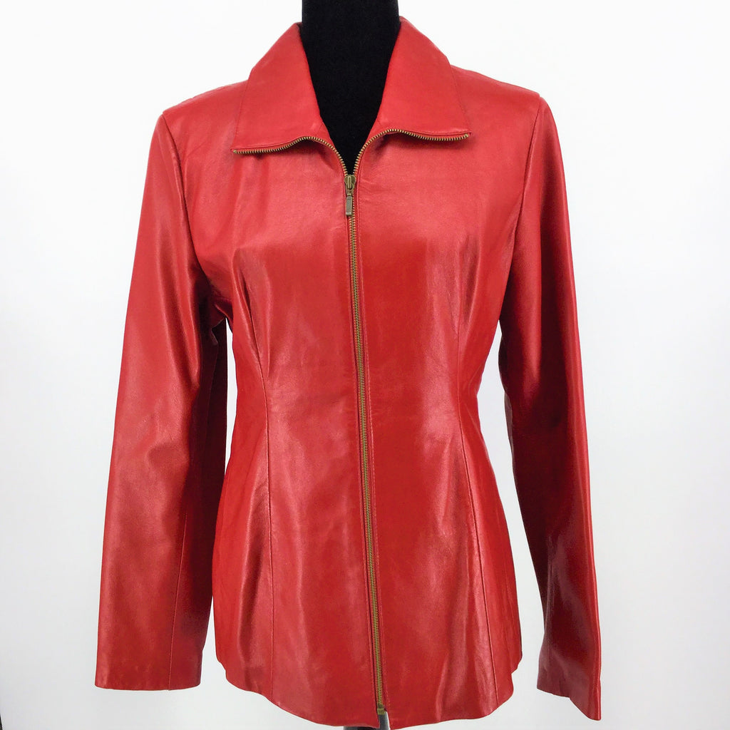 /ID COLLECTION LEATHER JACKET SIZE:L