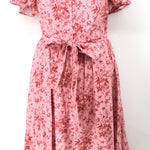 Gal Meets Glam Pink Floral Dress Size:18
