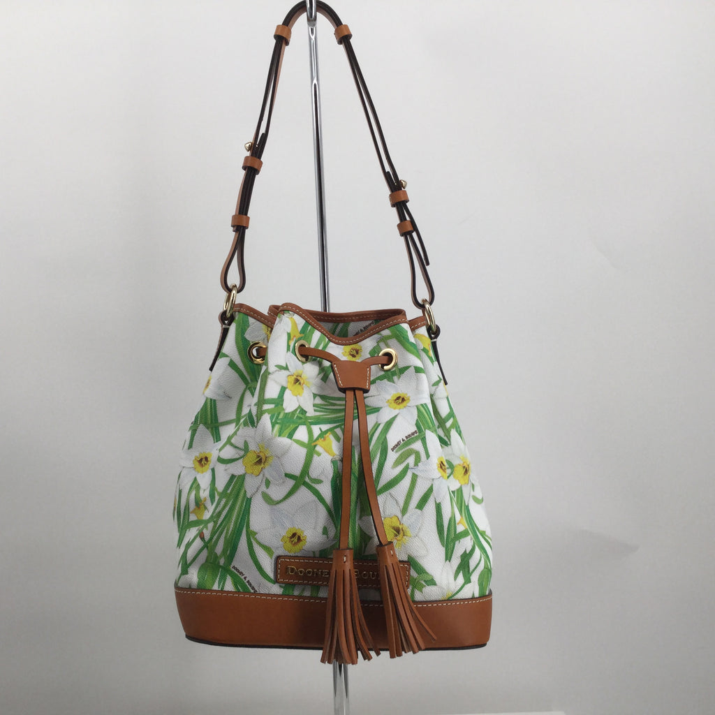 Dooney And Bourke Daffodil Drawstring Tote