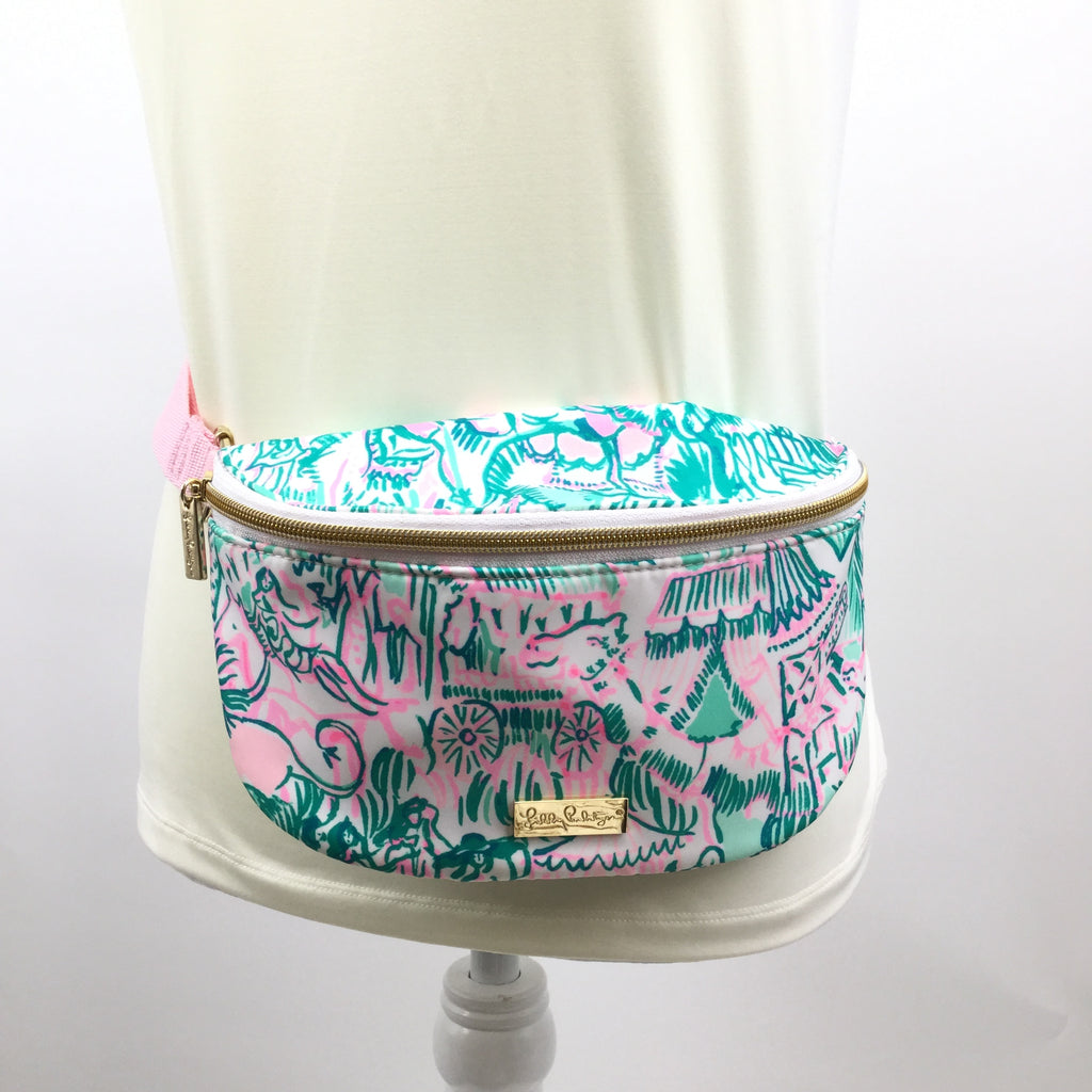 LILLY PULITZER FANNY PACK SIZE:SMALL