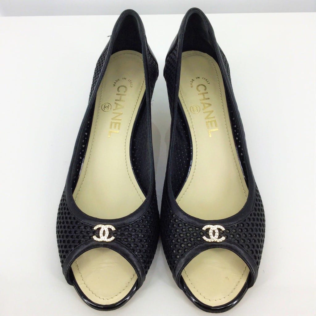 Chanel Shoes Low Heel Size:39.5