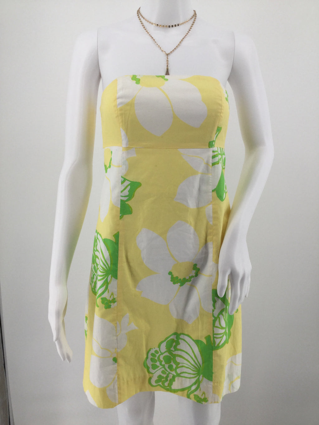 LILLY PULITZER DRESS SHORT SLEEVELESS SIZE:0