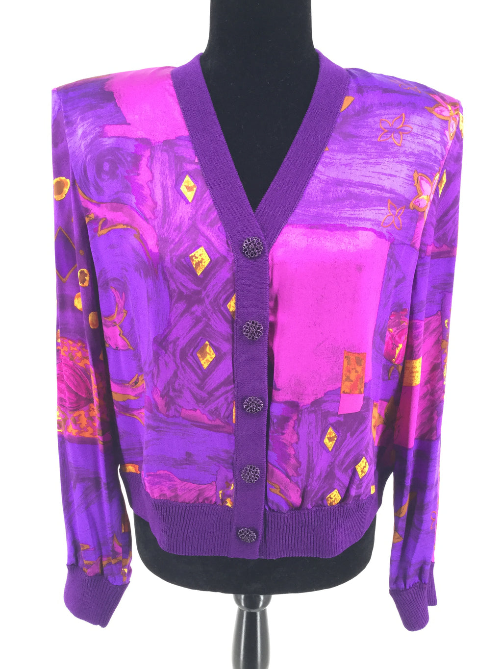 St John Collection Sweater Cardigan Lightweight Size:10