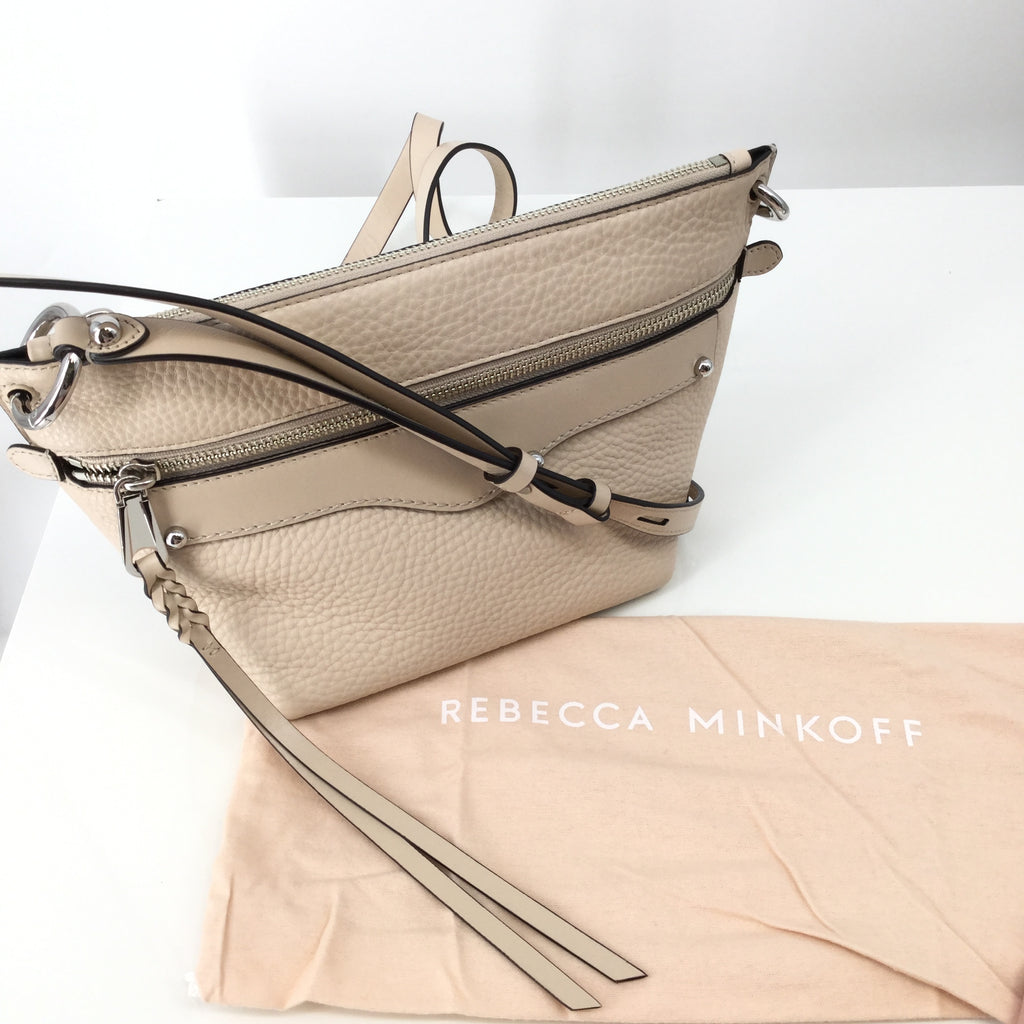 Cream Rebecca Minkoff medium sizedHandbag