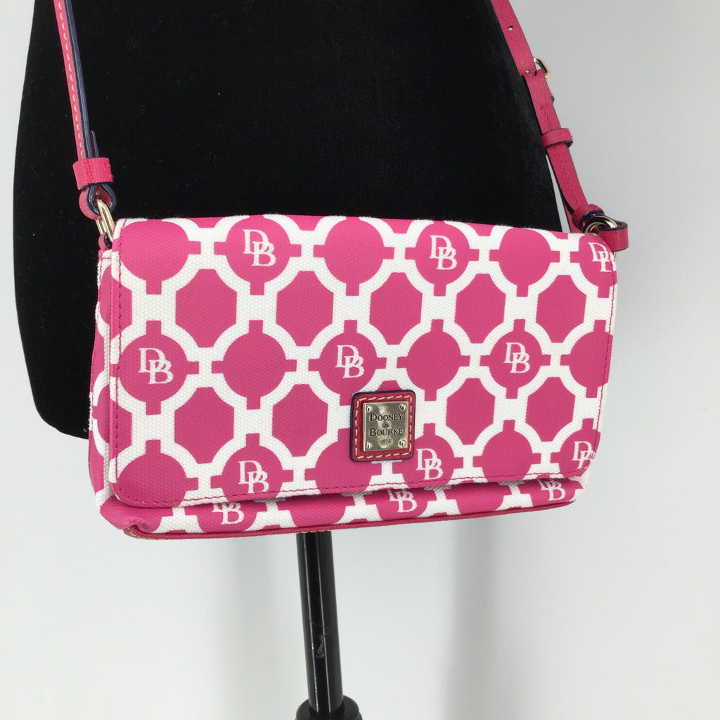 Pink Dooney And Bourke Small Crossbody