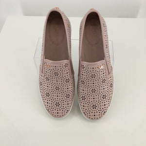 SHOES, - MICHAEL BY MICHAEL KORS TRENT PERFORATED SLIP ON.
