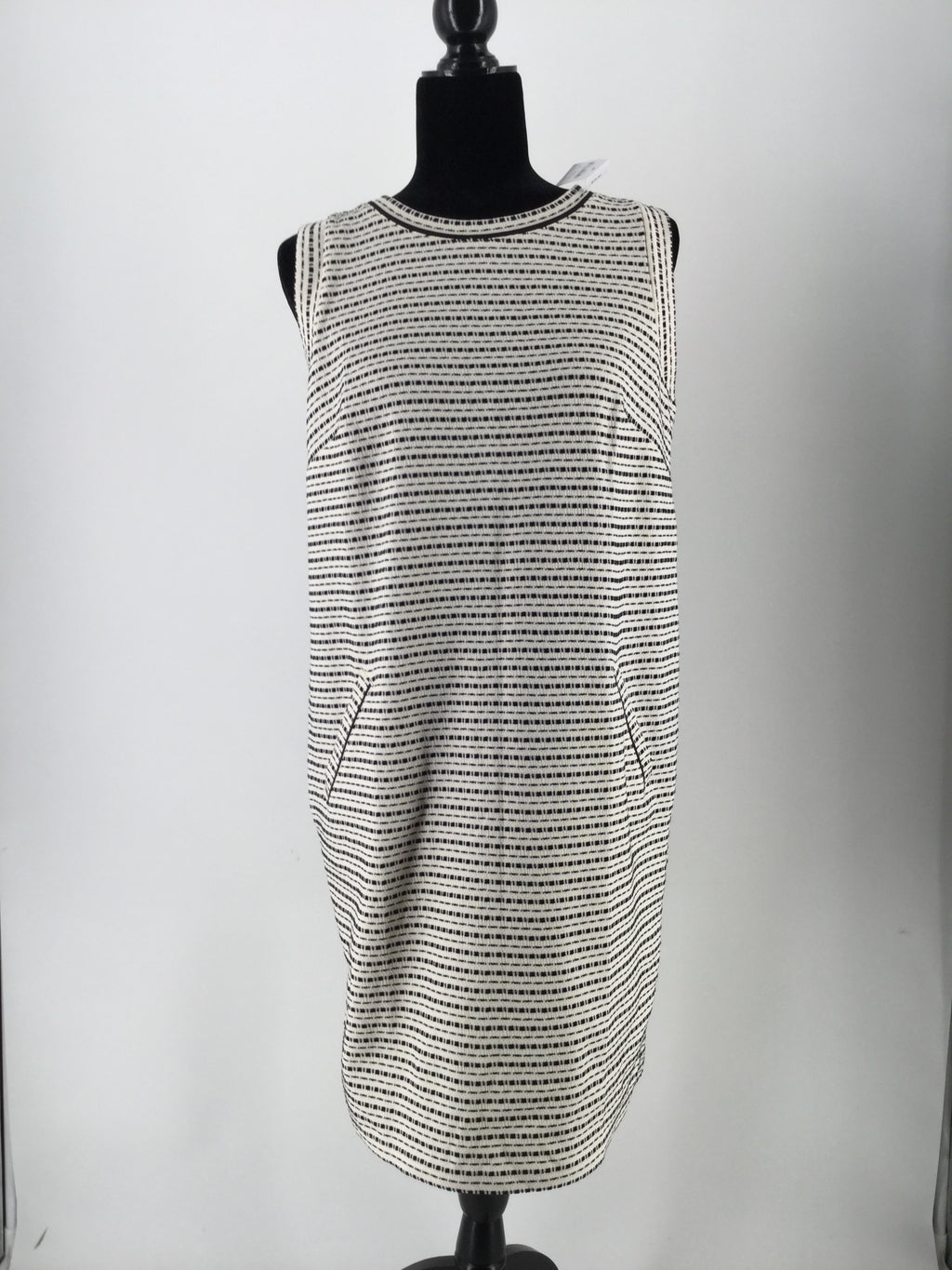 ANN TAYLOR LOFT DRESS LONG SLEEVELESS SIZE:M