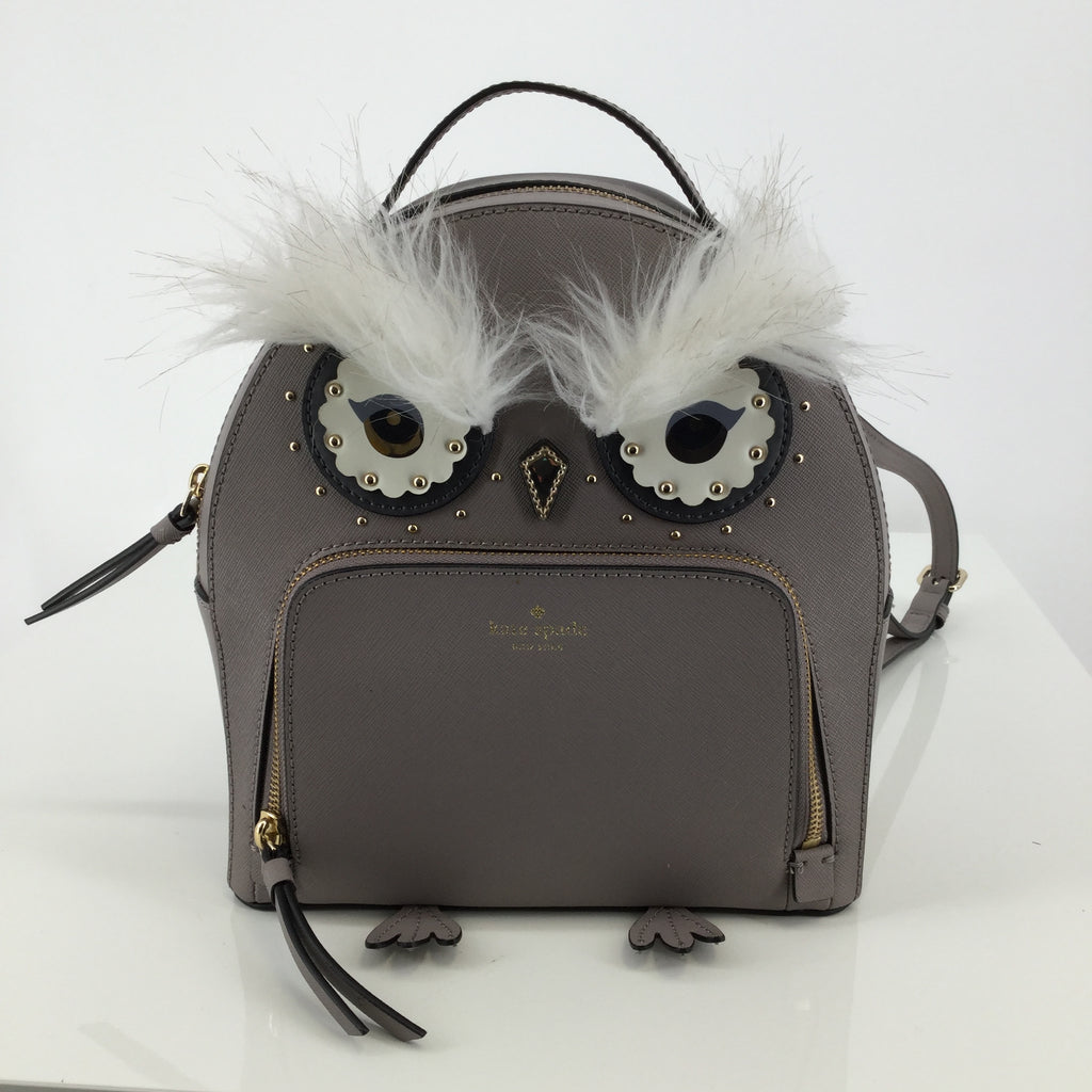 Kate Spade Owl Backpack Size Medium