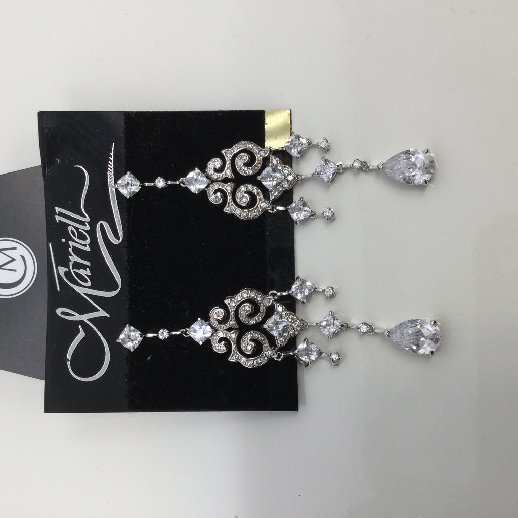 MARIELL CRYSTAL EARRINGS