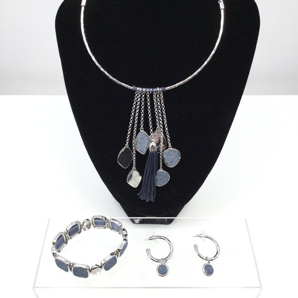 CHICOS NECKLACE SET 3 PIECE SET