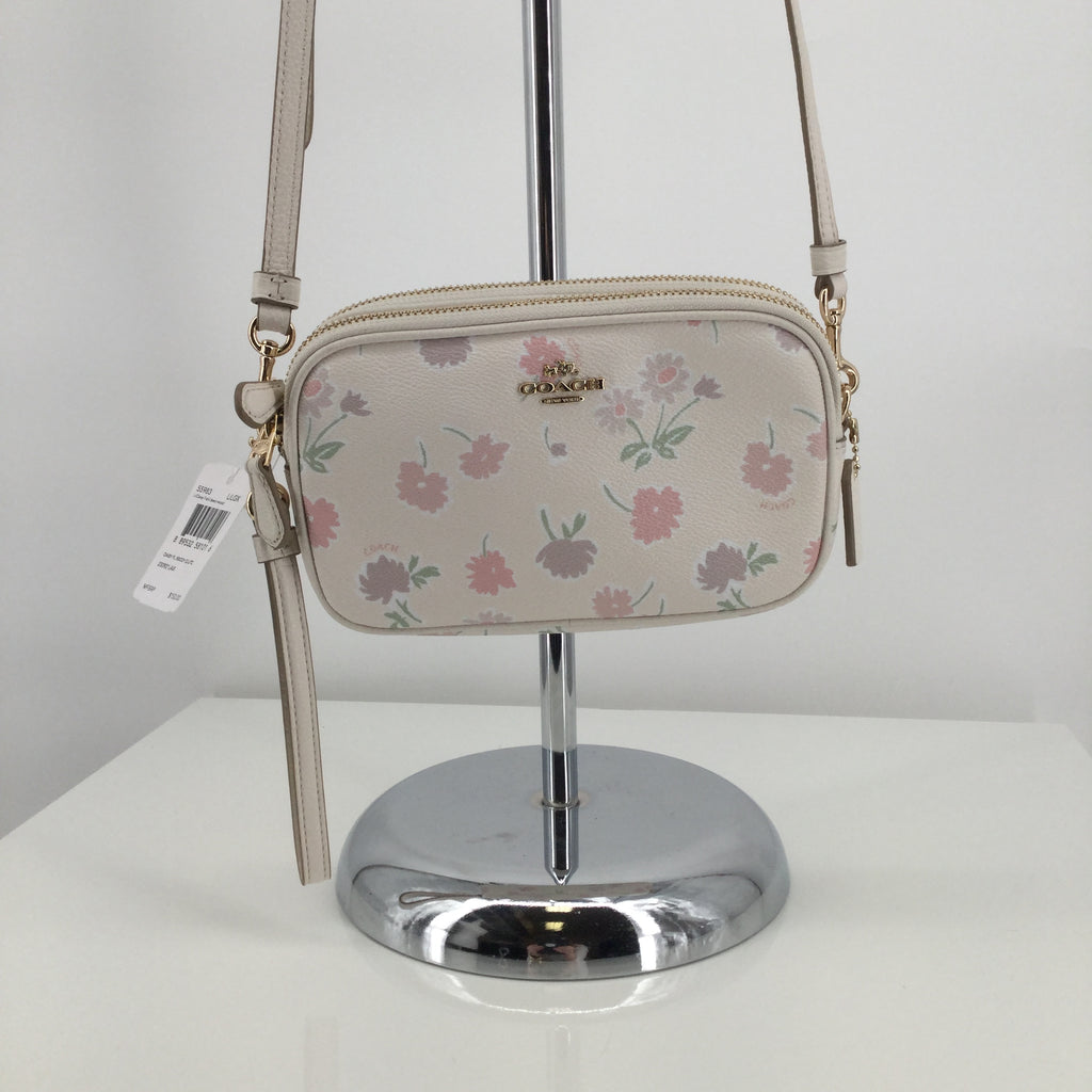 NWT Coach Daisy Floral Crossbody Clutch