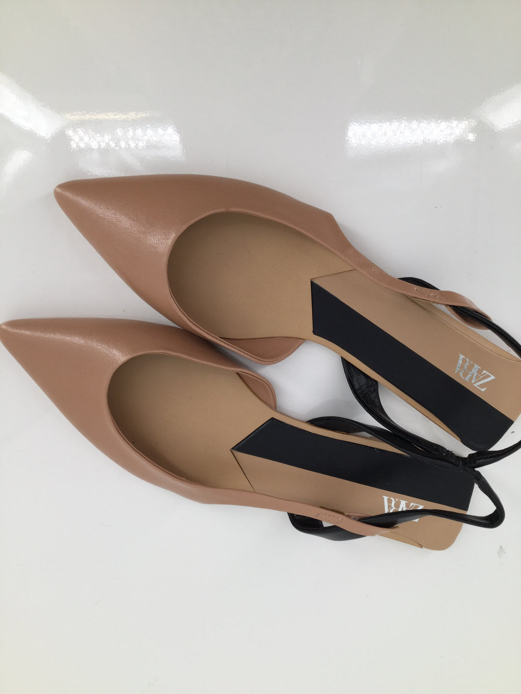 Zara Basic Shoes Flats Size:10