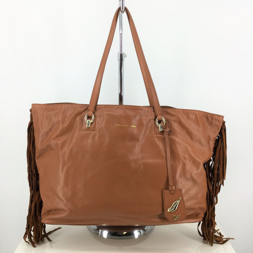 NWT Diane Von Furstenberg Soft Leather Tote