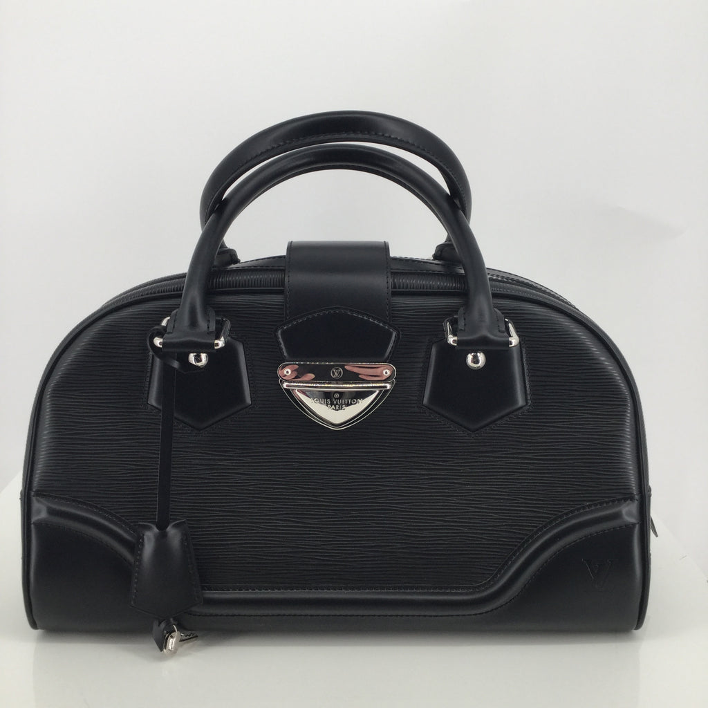 Louis Vuitton Montaigne Leather Satchel