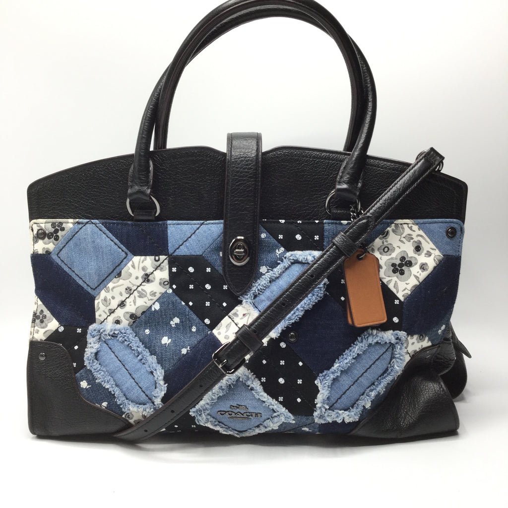 Coach Canyon Quilt Denim Mercer Satchel/Crossbody - Reduced price!!