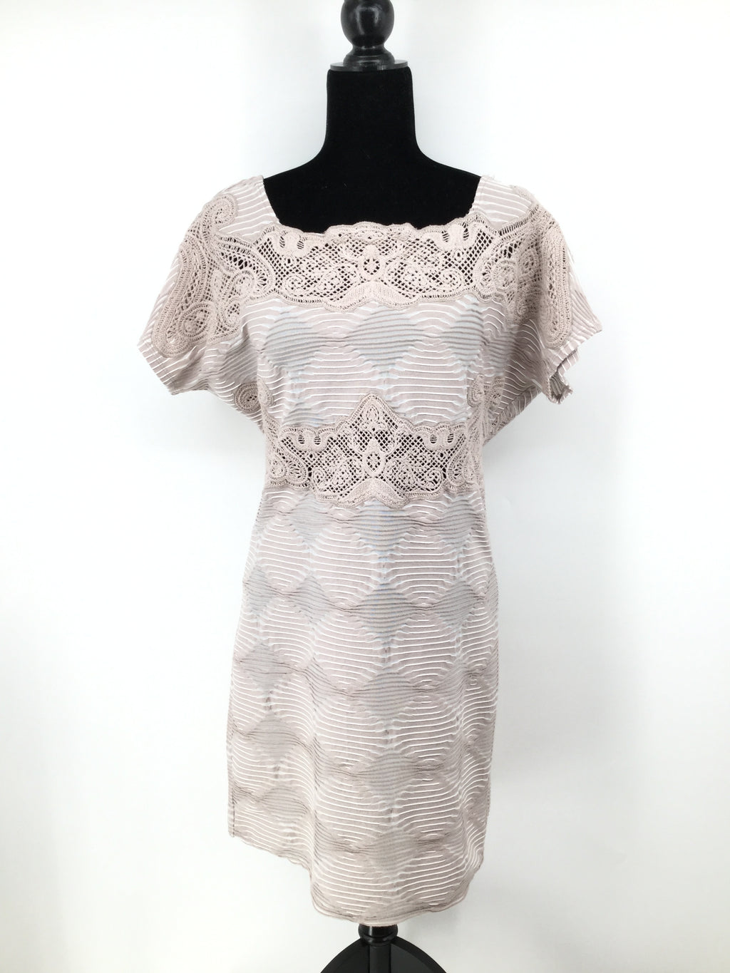 NEW! Free People Dress Short Ss Size:l