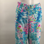 NWT Lilly Pulitzer Bal Harbour Palazzo Pants  - THESE BAL HARBOUR PALAZZOS ARE A PULL-ON RAYON STYLE THAT ADDS A COOL-TO-THE-TOUCH FEELING IN THE FABRIC THAT PROVIDES PLENTY OF EASE. THESE VERSATILE BOTTOMS LOOK GREAT WITH EVERYTHING FROM RUFFLED TANKS TO LINEN BUTTON DOWNS. THEY FEATURE A 33 INSEAM. NOTE: PINNED TO MODEL FOR PHOTO PURPOSES.