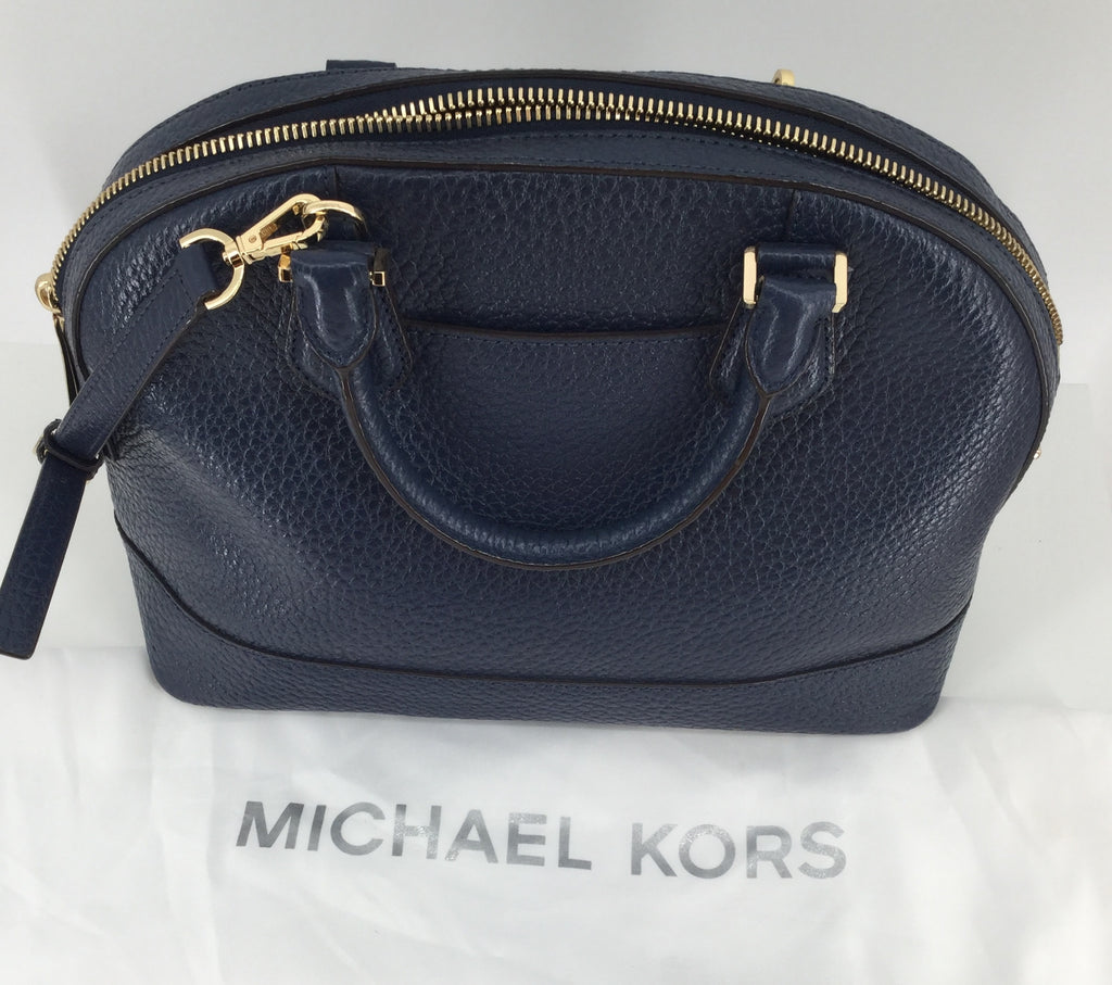 Michael Kors Navy Blue Large Handbag