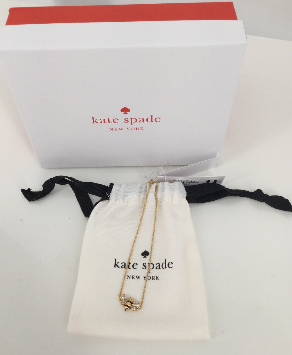 Kate Space Gold Picnic Perfect Bee Bracelet NWT MSRP $48