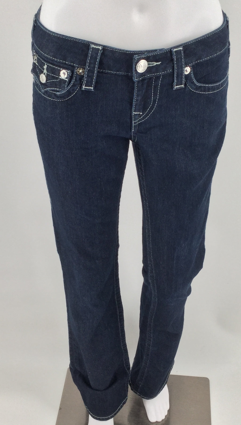 True Religion Dark Wash Jeans Size 4