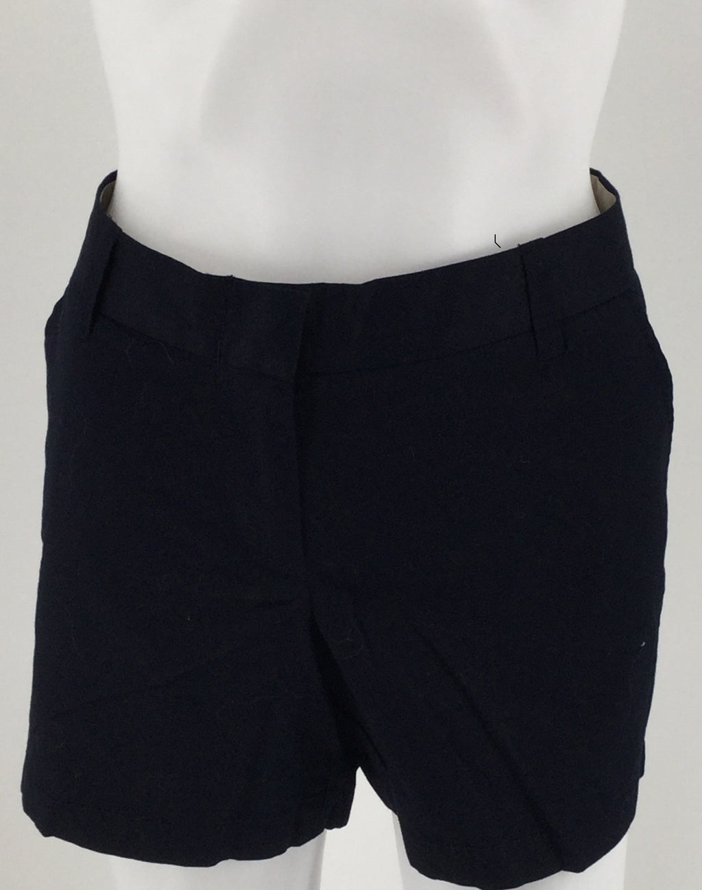 J. Crew Navy Blue Chino City Fit Shorts Size 8 Nwt Msrp $32.50