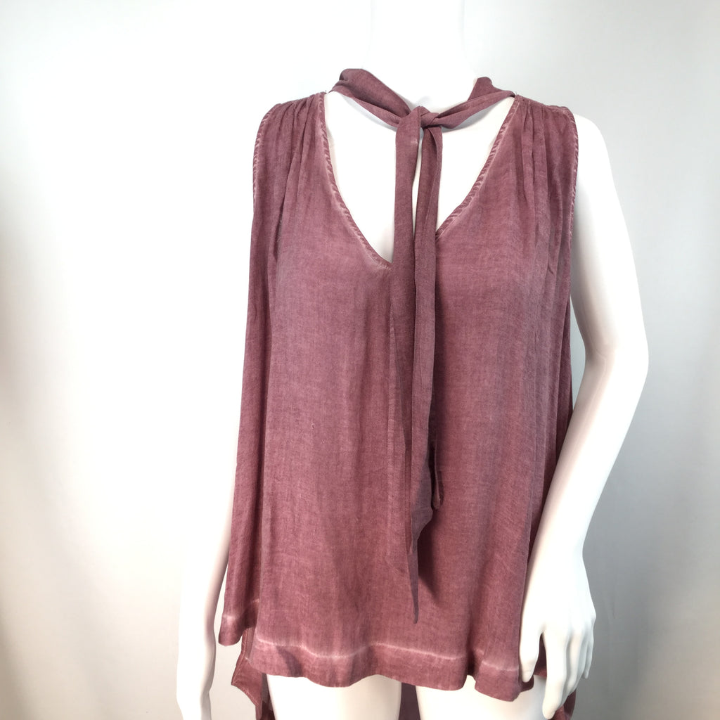 Free People Top Sleeveless Size: M