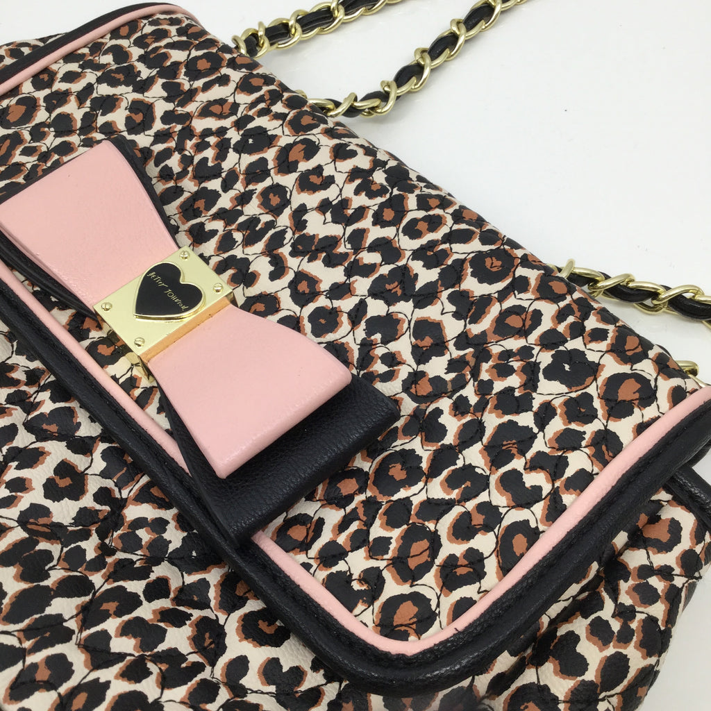 Betsy Johnson Animal Printed Handbag
