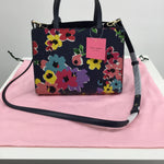 KATE SPADE HANDBAG DESIGNER - BRAND NEW!! SAM WILDFLOWER BOUQUET SATCHEL FROM KATE SPADE.  KEEP YOUR FLORAL TREND GOING YEAR ROUND WITH THIS LOVELY CROSSBODY, WHICH INCLUDES A POUCH AND DUSTCOVER.  DON'T PAY 300 WHEN YOU CAN SCORE THIS FROM CM FOR