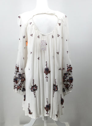 FREE PEOPLE DRESS SHORT LS SIZE:S